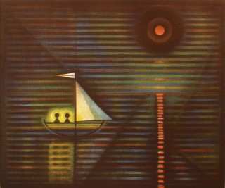 Product Image - Two Saints in a boat<BR>Year: 1984<BR>