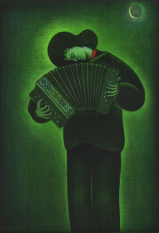 Product Image - Exilic accordionist<BR>Year: 2001<BR>