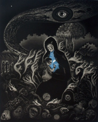 Product Image - The Virgin and the Child atomic bombed (big)<BR>Year: 2007<BR>